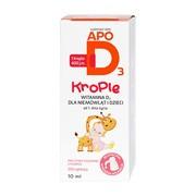 ApoD3, 400 j.m., krople, 10 ml (200 aplikacji)