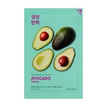 Holika Holika Pure Essence Mask Sheet - Avocado, maseczka na bawełnianej płachcie z ekstraktem z awokado, 20ml