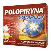 Polopiryna Complex, proszek w saszetkach do sporządzania roztworu doustnego, 12 szt.