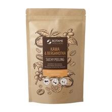 Botame Wellness Kawa & Bergamotka, suchy peeling kawowy, 200 g
