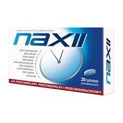 Naxii, 220 mg, tabletki powlekane, 20 szt.