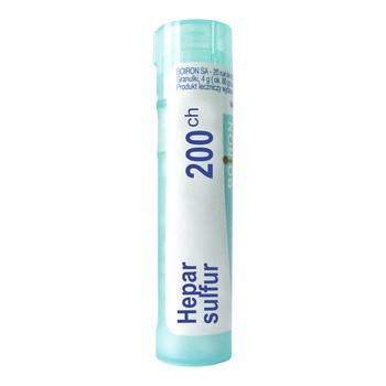 Boiron Hepar sulfur, 200 CH, granulki, 4 g