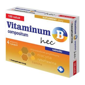 Vitaminum B compositum hec, tabletki, 100 szt.