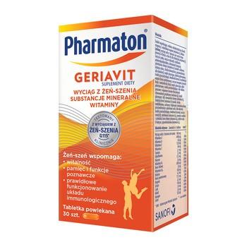Pharmaton Geriavit, tabletki powlekane, 30 szt.