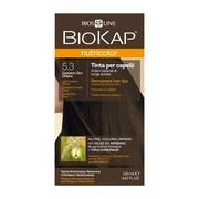 Biokap Nutricolor, farba do włosów, 5.3 jasny złoty brąz, 140 ml