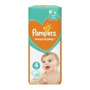 Pampers Sleep & Play 4 (9−14 kg), pieluszki jednorazowe, 50 szt.