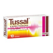 Tussal Expectorans, 30 mg, tabletki, 10 szt.