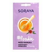 Soraya foodie, regenerująca maseczka do twarzy, miód manuka, 2 x 5 ml