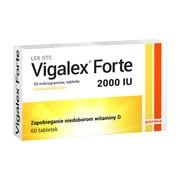 Vigalex Forte, 2000 IU, tabletki, 60 szt.