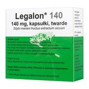 Legalon 140, 140 mg, kapsułki twarde, 20 szt. (import równoległy, Delfarma)