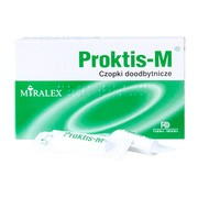 Proktis-M, czopki doodbytnicze, 10 szt.