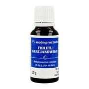 Pyoctanina (Gencjanowy fiolet), 2 % roztwór wodny, 20 ml (Gemi)