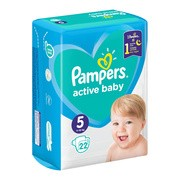 Pampers Active Baby 5, (11-16 kg), 22 szt.