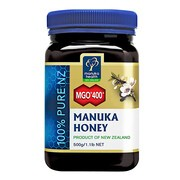 Miód Manuka MGO 400+, nektarowy, 500 g