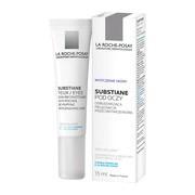 La Roche-Posay, Substiane+, krem odbudowujący, przeciwzmarszczkowy pod oczy, 15 ml