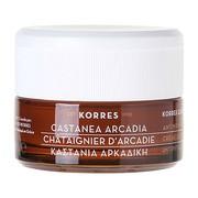 Korres Castanea Arcadia, krem na dzień, skóra sucha i bardzo sucha, 40 ml