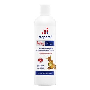 Atoperal Baby Plus, emulsja do kąpieli, 400 ml