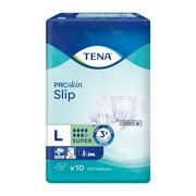 TENA Slip Proskin Super OTC Edition, pieluchomajtki, rozmiar L,10 szt.