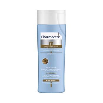 Pharmaceris H-Purin Dry, specjalistyczny szampon przeciwłupieżowy, łupież suchy, 250 ml