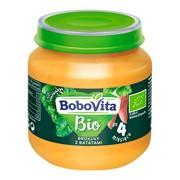 BoboVita Bio, obiadek brokuły z batatami, 4 m+, 125 g