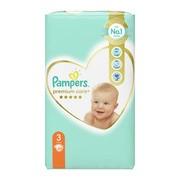 Pampers Premium Care 3 (6-10 kg), pieluszki jednorazowe, 60 szt.