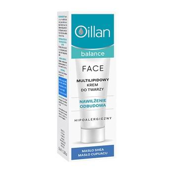 Oillan Balance, multi-lipidowy krem do twarzy, 40 ml