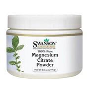 Swanson Cytrynian Magnezu, proszek, 244 g