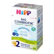 HiPP 2 BIO Combiotik, mleko następne, 6 m+, proszek, 550 g