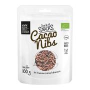 Diet-Food, Bio cacao nibs - łamane ziarno kakaowca, 100 g