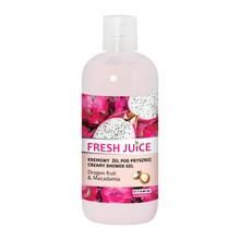 Fresh Juice Owoc smoczy i Makadamia, żel pod prysznic, 500 ml