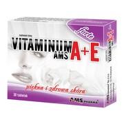 Vitaminum A+E AMS forte, tabletki, 30 szt.