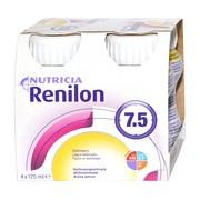 Renilon 7.5, odżywczy płyn o smaku morelowy, 4 x 125 ml