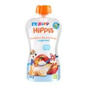 HiPP HiPPiS BIO, mus brzoskwinie, banany, mango z jogurtem, po 6. miesiącu, 100 g