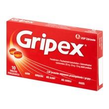 Gripex, tabletki powlekane, 10 szt.