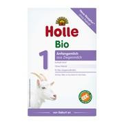 Holle Mleko 1 BIO, na bazie mleka koziego, od urodzenia, proszek, 400 g