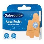 Salvequick, plastry  wodoodporne, Aqua Resist, 40 szt.