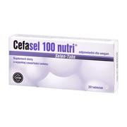 Cefasel 100 nutri, tabletki, 20 szt.