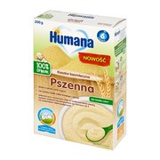 Humana 100% Organic, kaszka bezmleczna, pszenna, 6 m+, 200 g