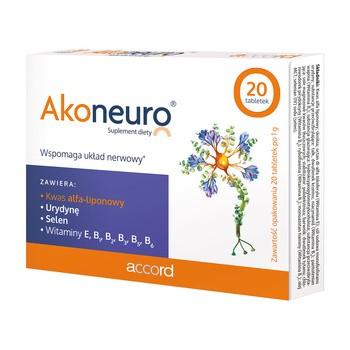 Akoneuro, tabletki, 20 szt.
