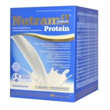 Olimp Nutramil Complex Protein, smak waniliowy, 6 saszetek