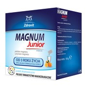 Zdrovit Magnum Junior, od 3 roku życia, proszek, 20 saszetek