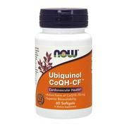Ubiquinol CoQH-CF, kapsułki,  60 szt. (Now Foods)