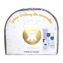 Zestaw Promocyjny Mustela Bebe-Enfant, żel do mycia, 100 ml + krem do przewijania, 50 ml + liniment, 50 ml GRATIS + mleczko, 50 ml GRATIS + kosmetyczka GRATIS