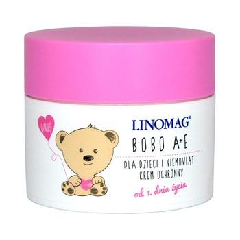 Linomag, Bobo A+E, krem ochronny dla dzieci i niemowląt, 50 ml