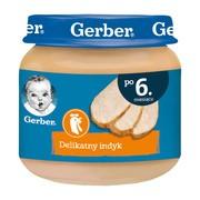 Gerber, delikatny indyk, 6 m+, 80 g