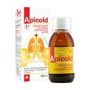 Apicold 1+, syrop, z korzenia prawoślazu, z dodatkiem miodu, 100 ml