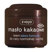 Ziaja Masło Kakaowe, krem lekka formuła, skóra normalna i sucha, 200 ml