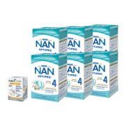 Zestaw 6x Mleko Nan Optipro 4 Junior + NanCare Vitamin D