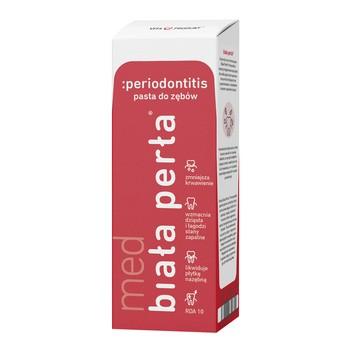 Biała Perła Med Periodontitis, pasta do zębów, 75 ml