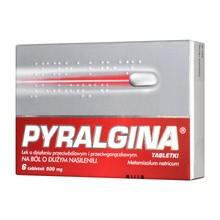 Pyralgina, 500 mg, tabletki, 6 szt.